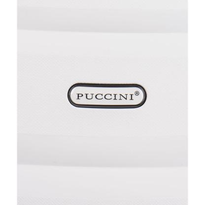 Walizka kabinowa Puccini Acapulco biała
