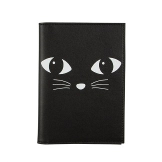 Etui na paszport i karty Black Cat