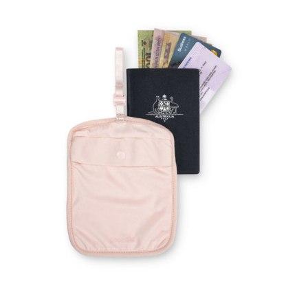 Sekretny damski portfel pod pasek Pacsafe Coversafe S60