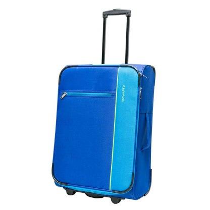 Walizka średnia Travelite Portofino VI  niebieska