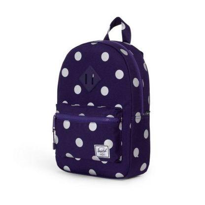 Plecak Herschel Heritage Kids Parachute Purple Polka Dot