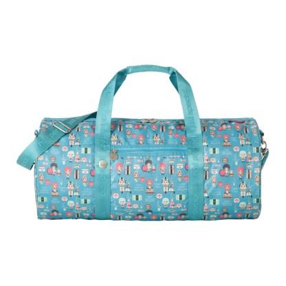 Weekendowa torba podróżna Travelite Lilledy turkusowa