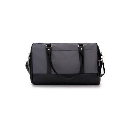 Sportowa torba weekendowa Solier S18 GOVAN szara