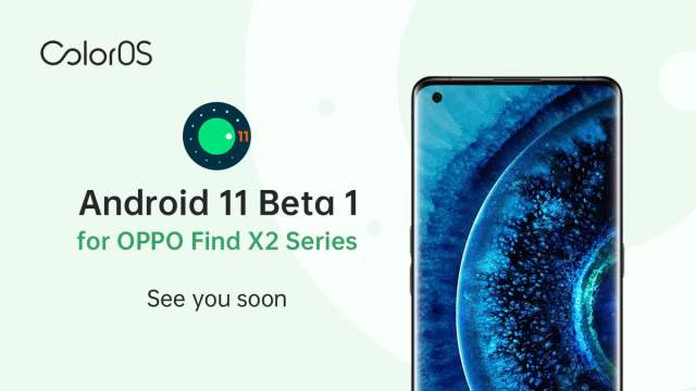 Oppo Android 11 Update