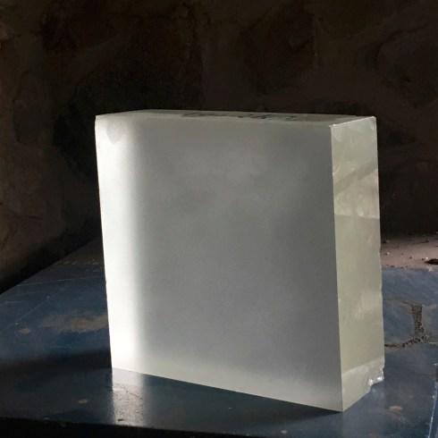 Large optical crystal blank