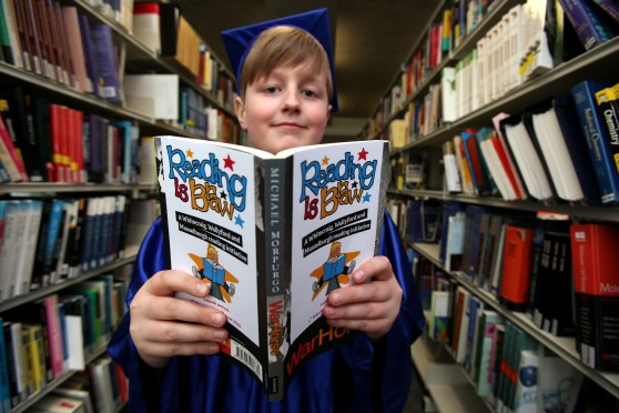 QMU Supports 'Reading is Braw' in Musselburgh