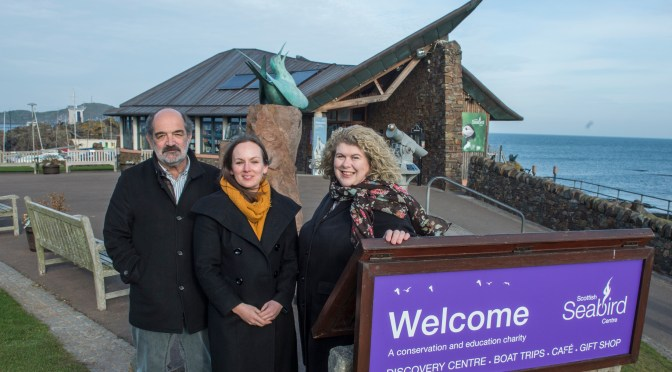 Original Seabird Centre architects to work on National Marine Centre project