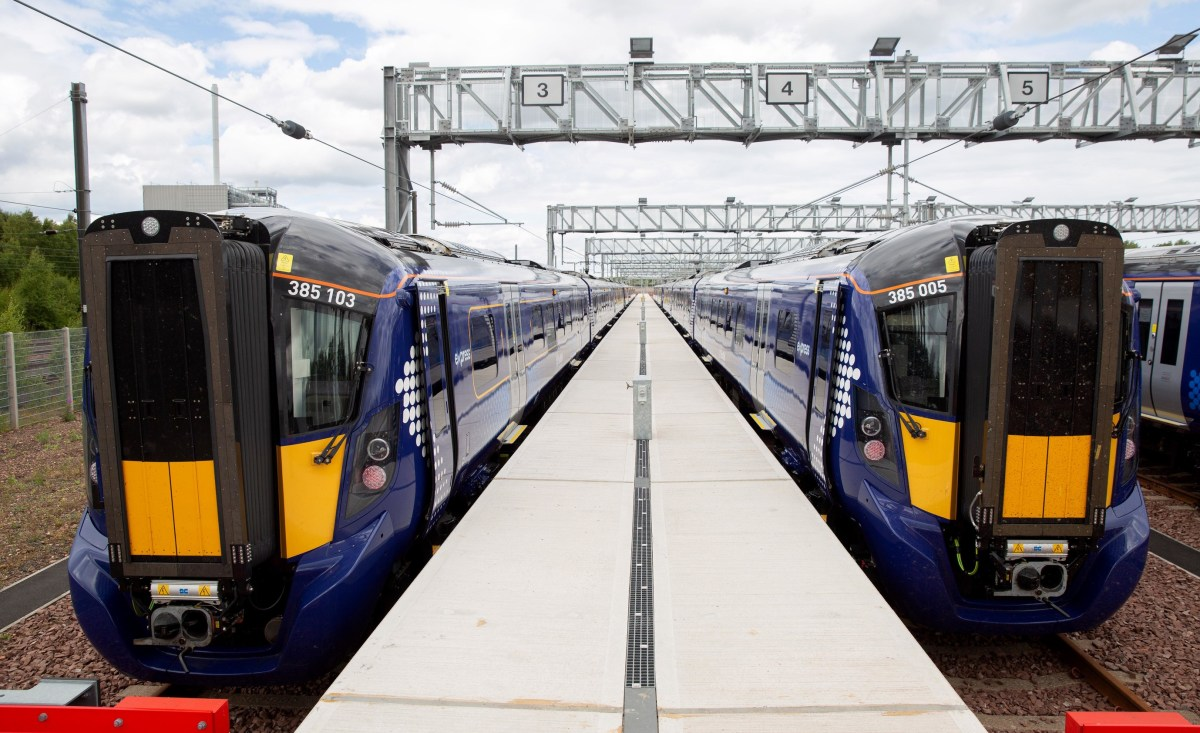 New electric train ready for North Berwick route