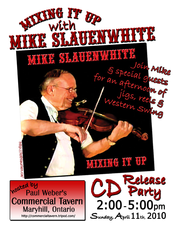 Mike Slauenwhite CD Release Party (3/4)