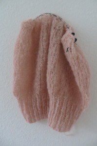 Pulli aus Boucle-Wolle in purer