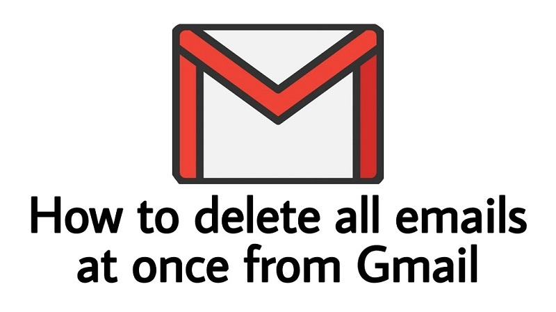 How to delte all emails at once from Gmail