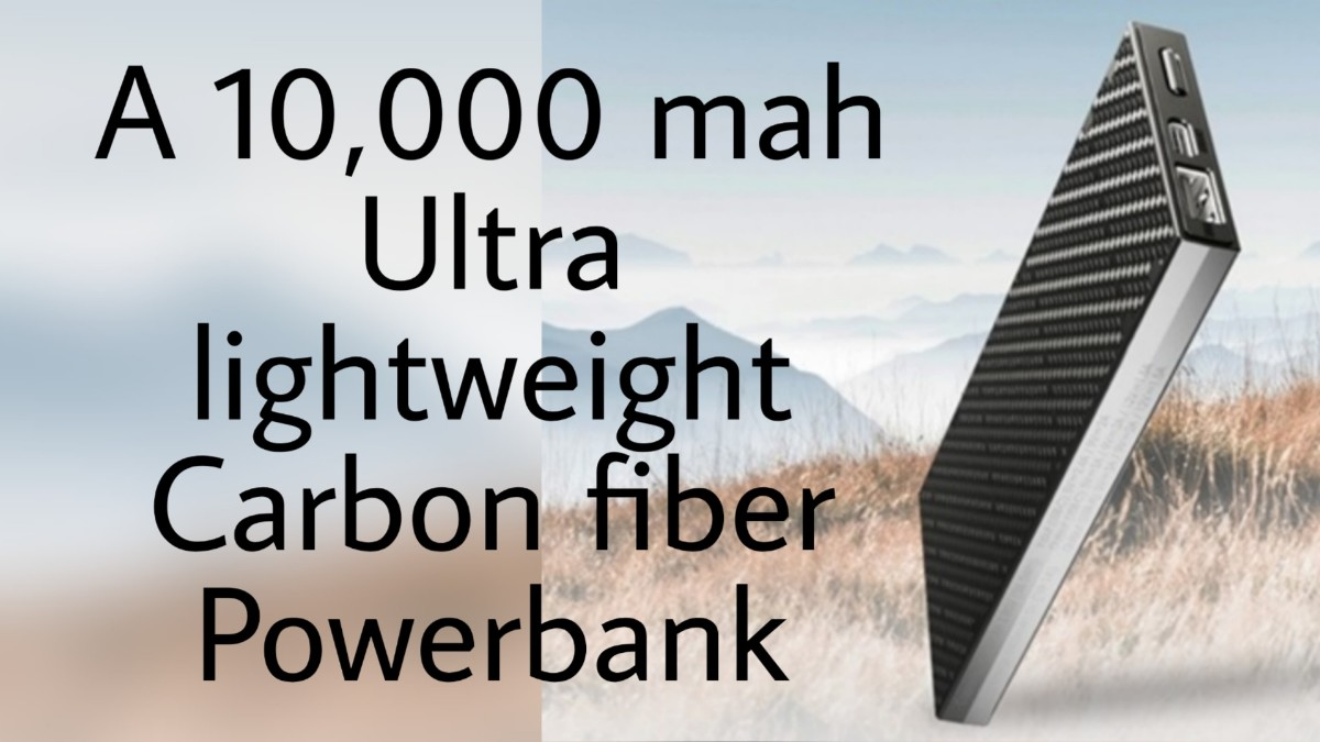 Ultra lighweight powerbank