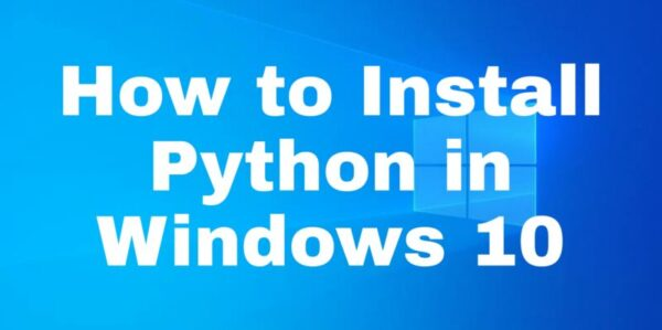 How to Install Python IDLE on Windows
