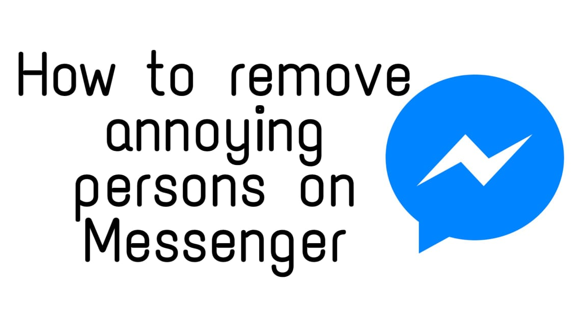 How to remove someone on messenger
