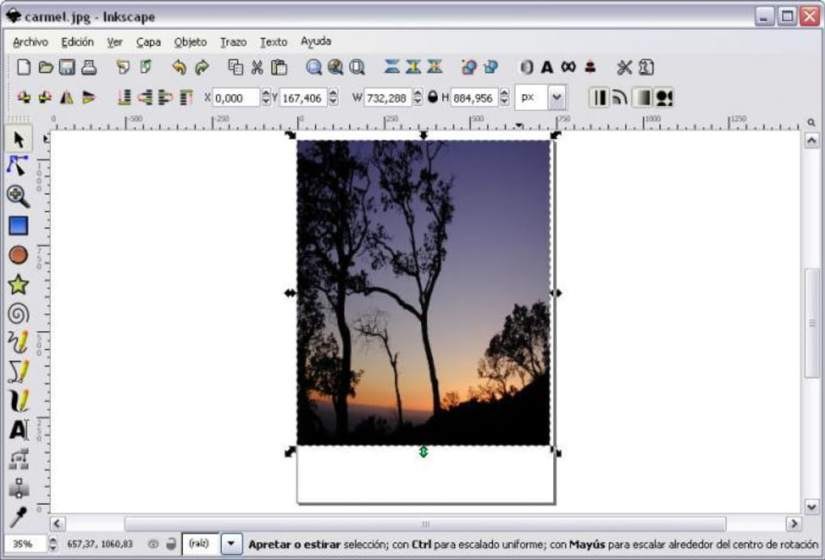 inkscape a lightweight graphics editor for Linux