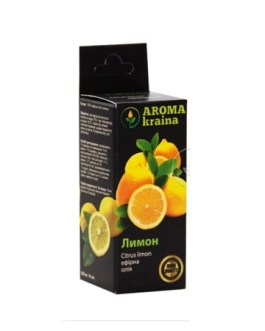 Лимон 10мл эфирное масло Арома краина
