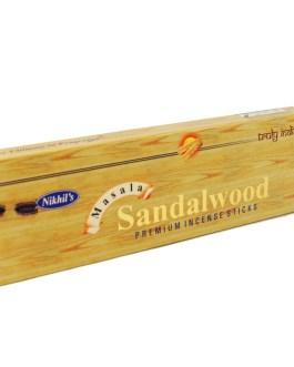 Sandalwood premium incense 50g Nikhils