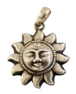 Солнце кулон 1,9гр. 0500