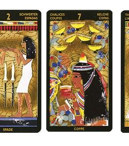 Tarot Nefertari (gold foil) /Lo Scarabeo/