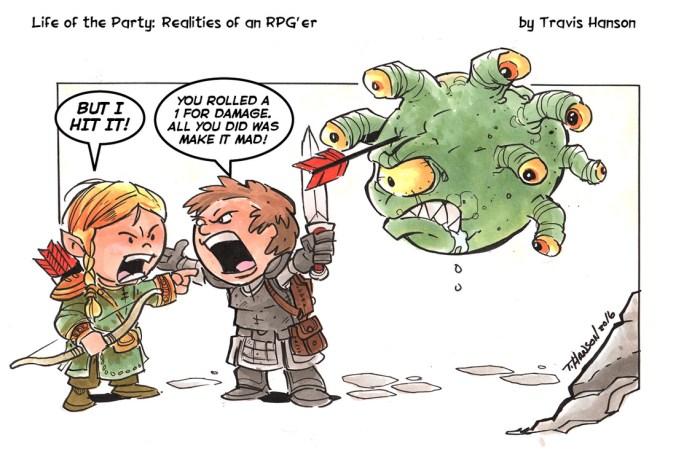 Resultado de imagem para life of the party rpg