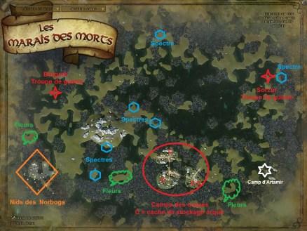 Marais des morts - Lotro wiki