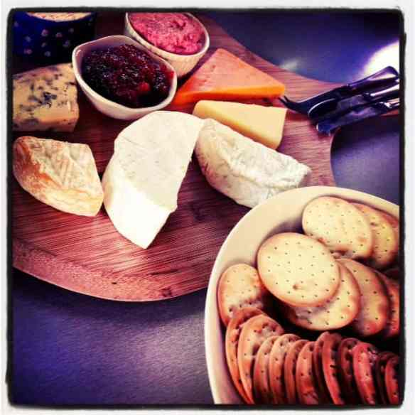 Witches Chase Cheese Platter... to die for!
