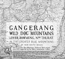 Dunphy Gangerang Map