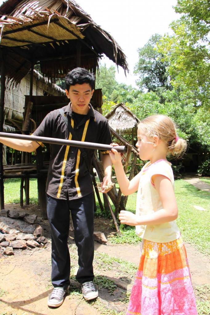 Hannah dart blowing in Sabah [Pic: Linda Anderson]