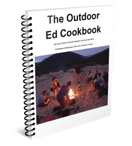 The Best Outdoor Cookbook