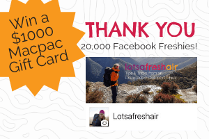 Win a $1000 Gift Card from Macpac