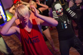 Doing the Macarena at the Electric Dance