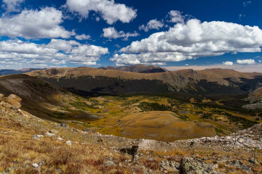 The view from the Continental Divide