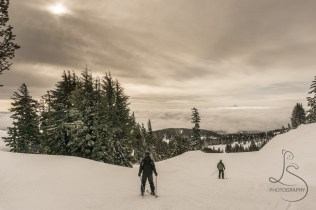 Skiing at Mt. Hood Meadows