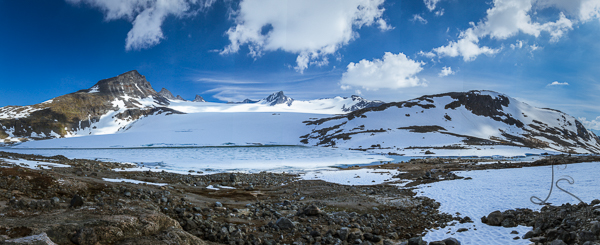 The Leir glacier, in panorama | LotsaSmiles Photography