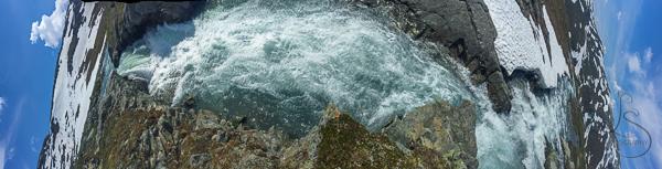 Vertorama of the creek, from horizon to horizon | LotsaSmiles Photography