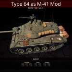 Type 64 as M41 Light Mod