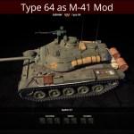 Type 64 as M41 Light Mod