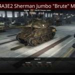 "M4A3E2 Sherman Jumbo ""Brute"" Mod"