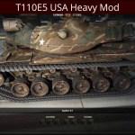 T110E5 USA Heavy Mod
