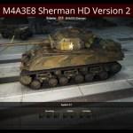 M4A3E8 Sherman HD Version 2 Mod