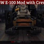 GW E-100 Mod with Crew