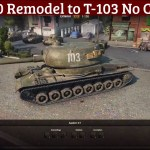 T-150 Remodel to T-103 (No Camo)