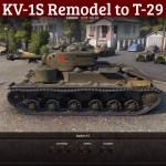 KV-1S Remodel to T-29
