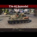 T34-85 Remodel