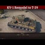 KV-1 Remodel to T-29