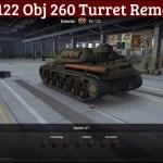 KV-122 Remodel Obj 260 Turret Modified Swap