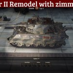 Tiger II with Zimmeritt