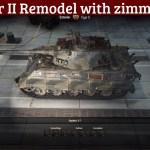 Tiger II with Zimmeritt