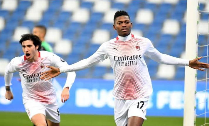AC Milan's Rafael Leao Makes History In Serie A With 6-Second Strike VS Sassuolo