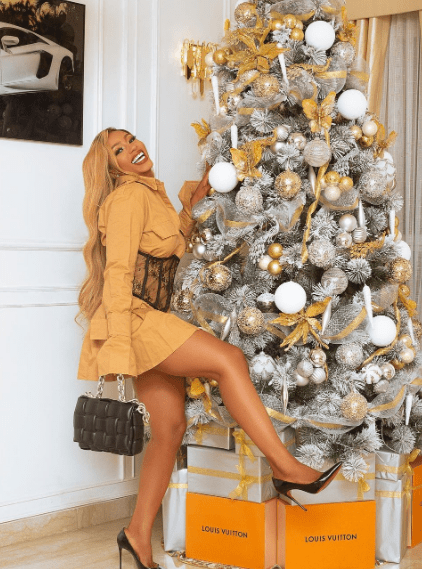 Mercy Eke's new year message for her fans